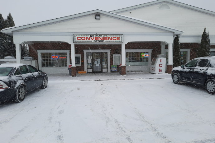 Outside view of the store